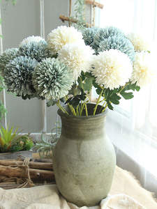 Fake Flower Simulation Dandelion Road-Cited Wedding-Holding Home-Decoration 1-Pc