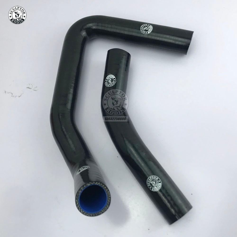 Heater Hose for Toyota 85-87 Corolla AE86 4A-GEU HPS Black Silicone Radiator