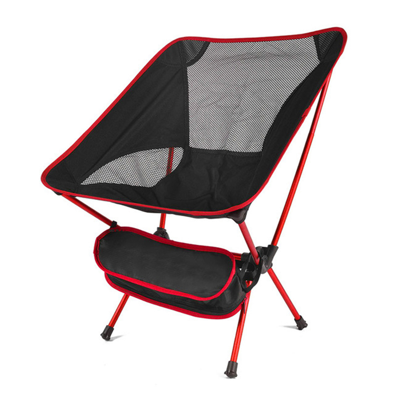 Easily Ultralight Folding Chair Superhard High Load Outdoor Camping Chair Portable Beach Hiking Picnic Seat Fishing Tools Chair