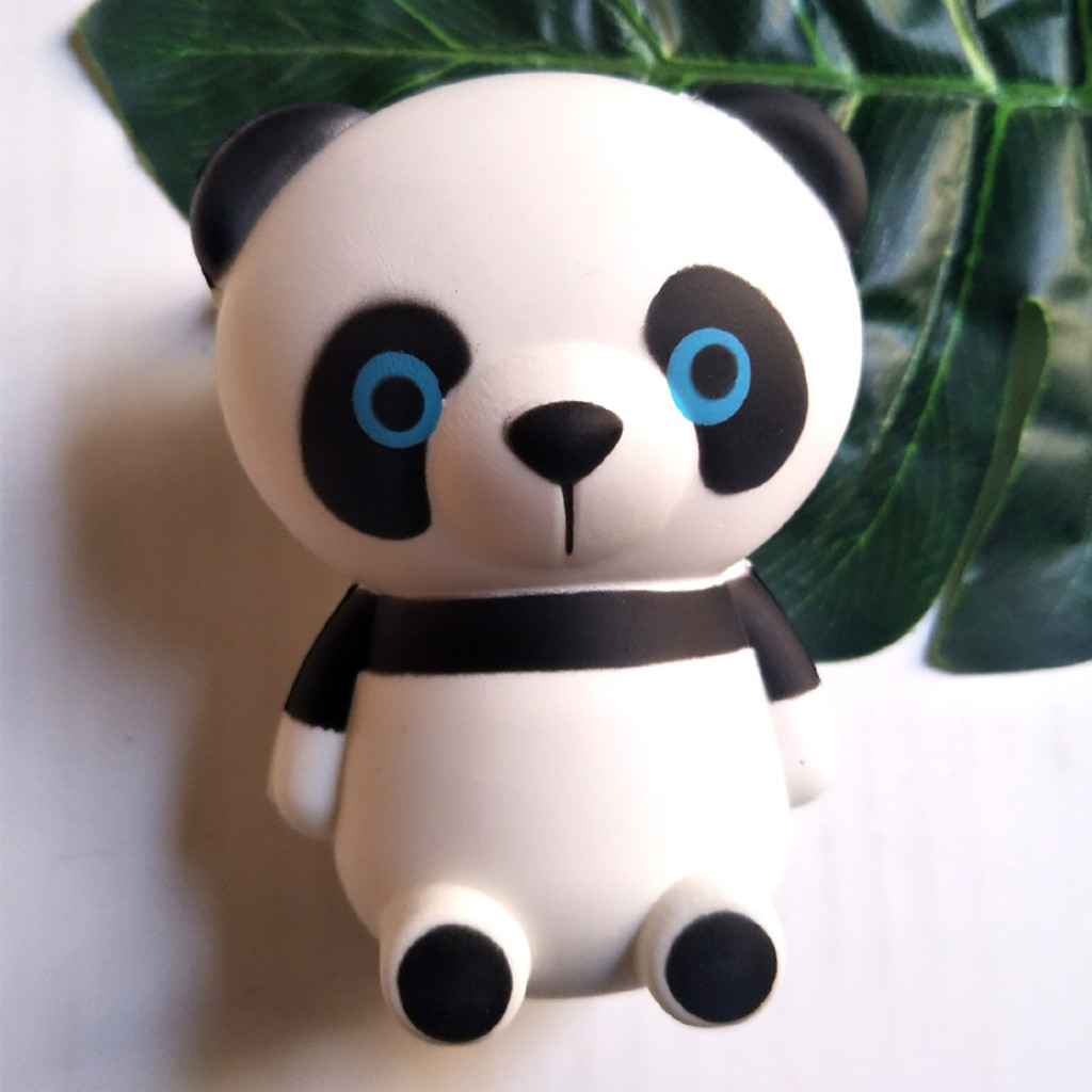 Cute Panda Slow Rising Kids Toys Doll Gift Eliminate Antistress Finger Pets toy decompression Slow rebound toy #A