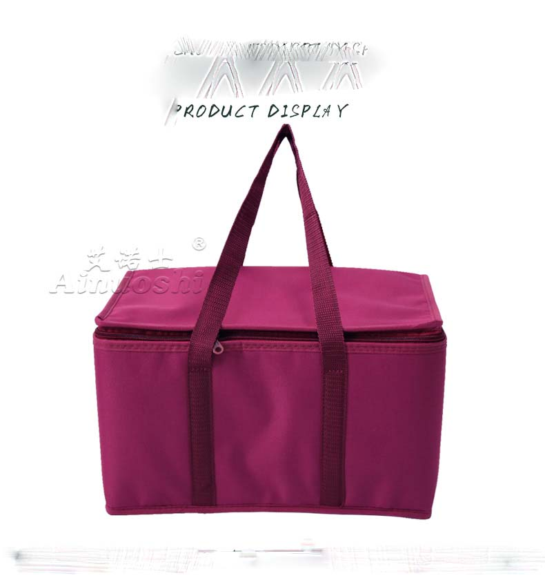 big thermal picnic cooler bag lunch food insulation cool handbag large capacity insulated shopper shopping tote bag AI20