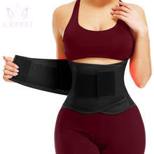 Belt Corset Trimmer Waist-Trainer Fitness-Strap Belly-Band Body-Shapers Slimming Tuck-Control