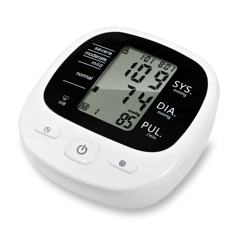 Automatic Digital Upper <font><b>Blood</b></font> <font><b>Pressure</b></font> Monitor Beat Pulse Tonometer Sphygmomanometers pulsometer
