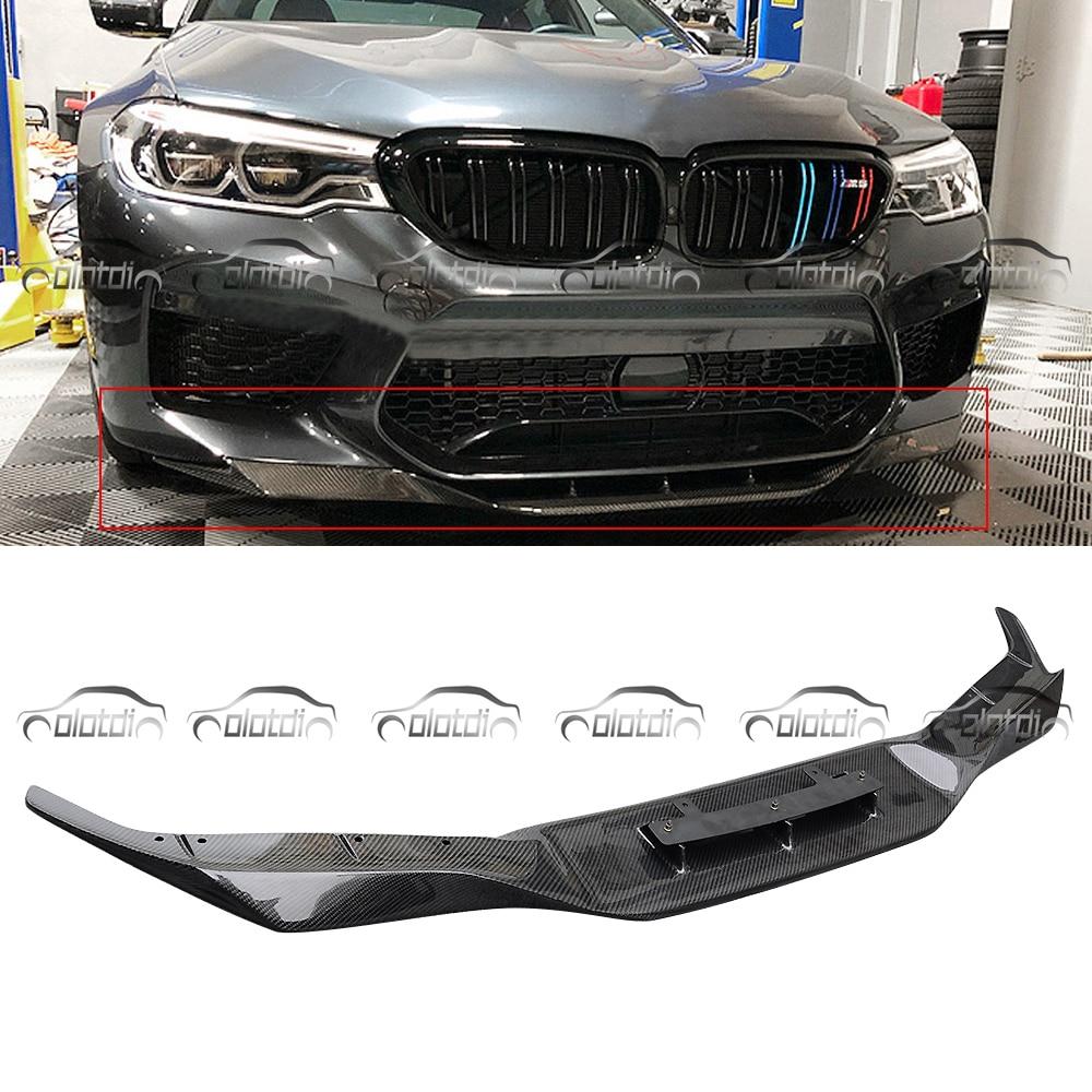CF Carbon Fiber RKP Style Front Bumper Splitter Lip Wing for BMW F10 M5 2010-16