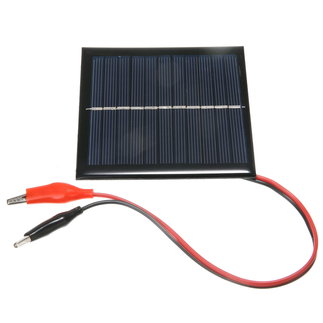 Mayitr Portable Cell Solar Panel System 9V 3W Light DIY Battery Cell Charger Module Solar Panel