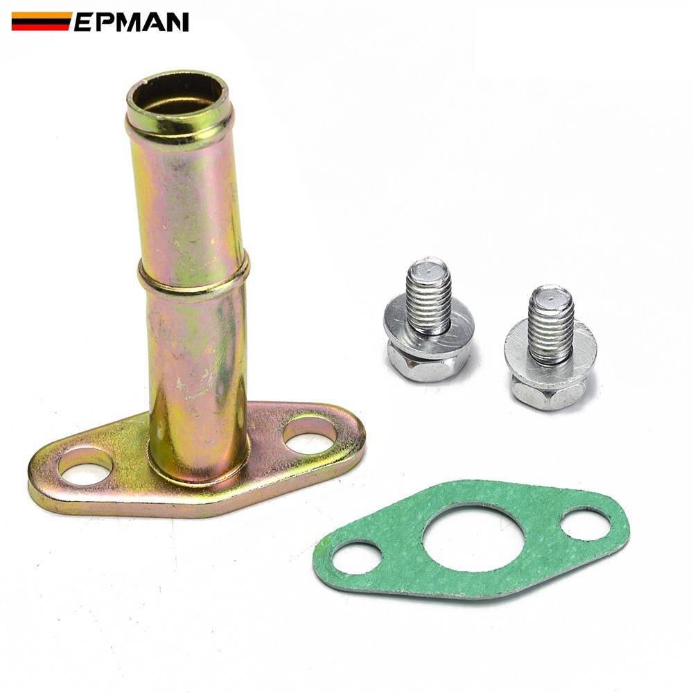 Epman Turbo Oil Drain Return Pipe Kit For Garrett Ball Bearing GT25 GT28 GT30 GT35 EPHBOV1035