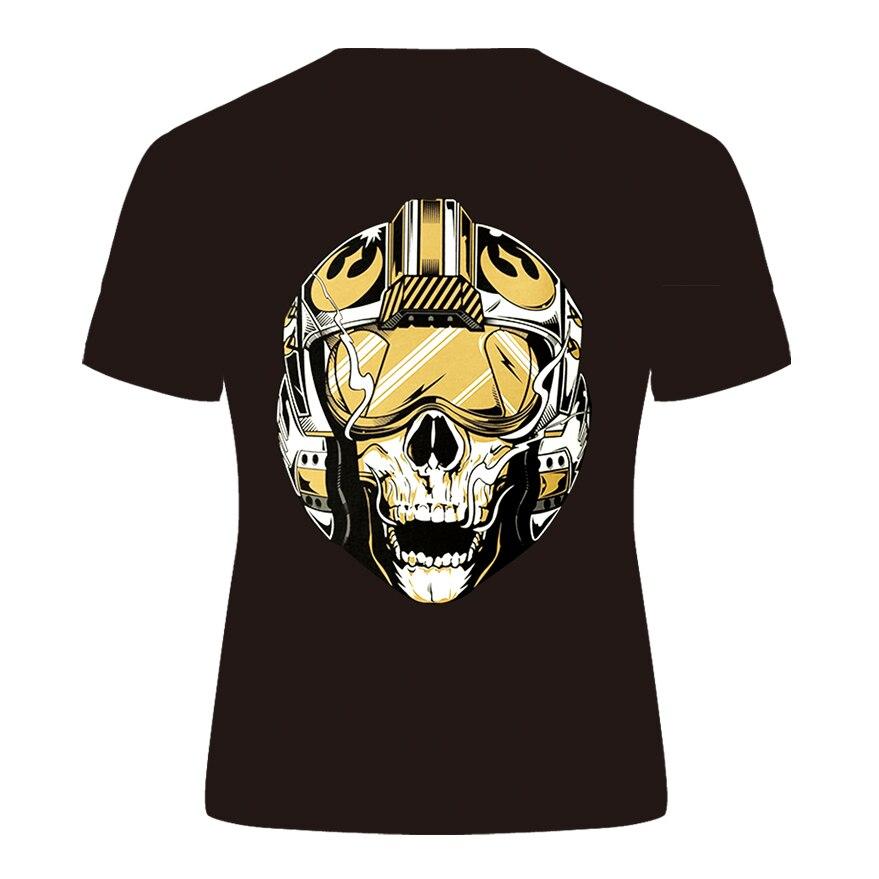 DE058-T恤短袖模版-后
