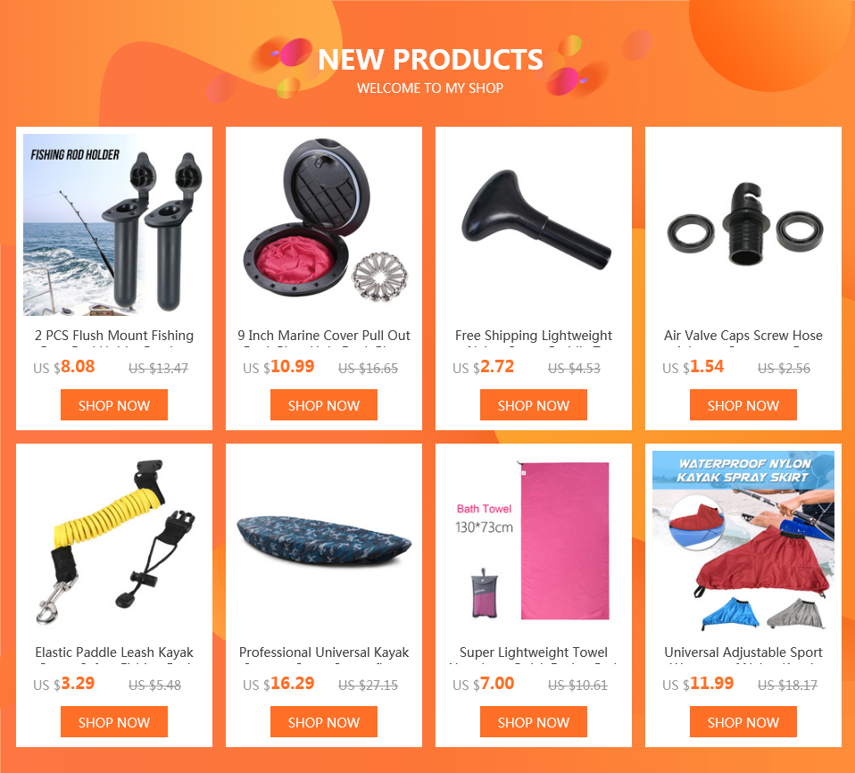 Universal Kayak Accessories Rod Holder Mount Base Hot Sale Nylon Tackle Kit LA