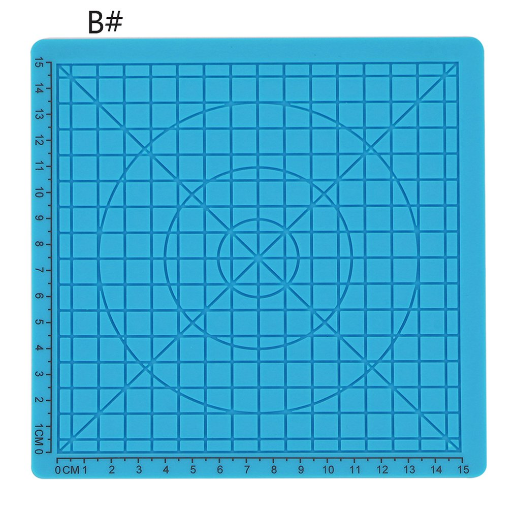 Mat Puzzle with 2-Finger-Caps -0115 Green Pen-Accessories Drawing-Board Educational 3d-Printing title=