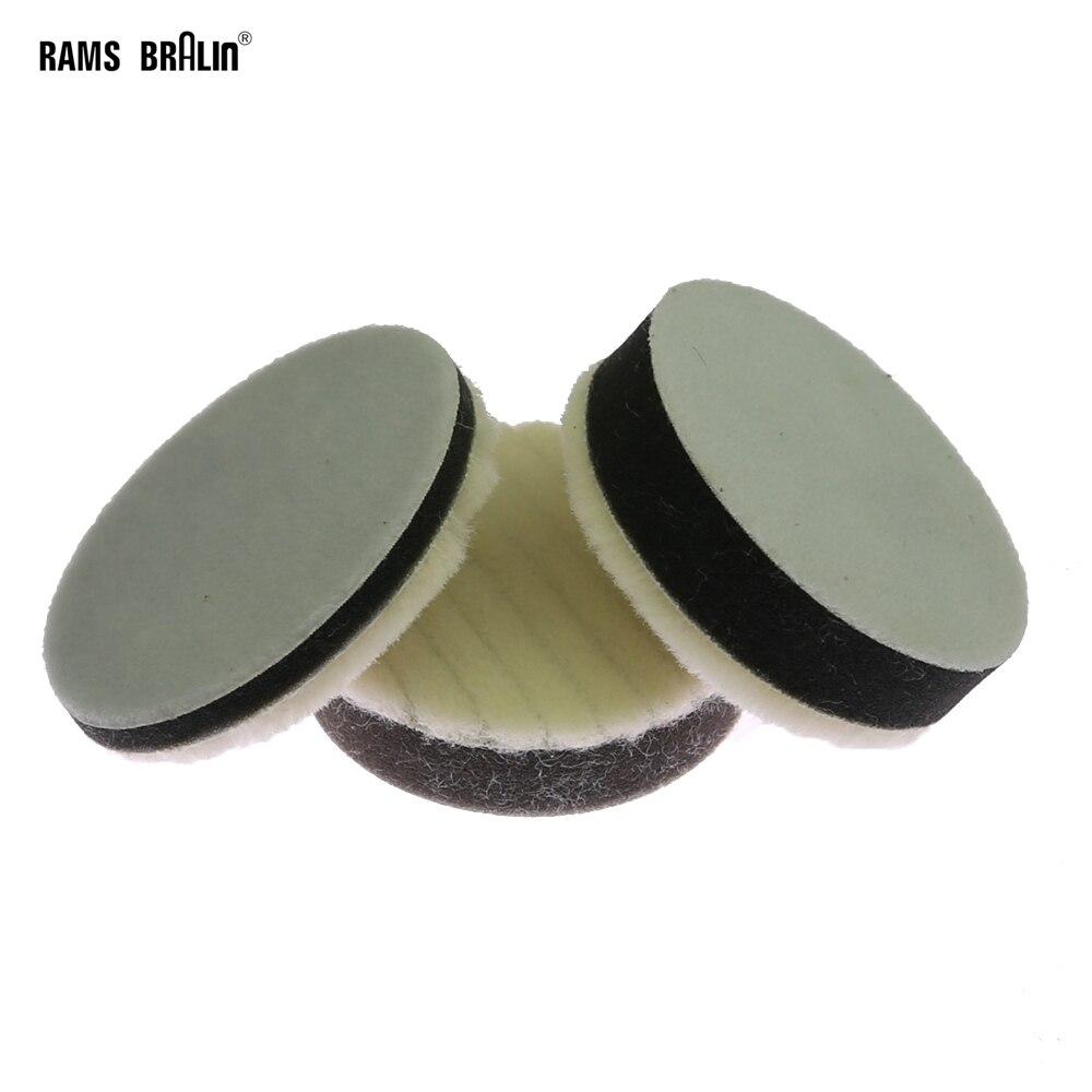 4pc Dremel Rotary Tool Felt Bonnet Wheel Set Polishing Metal Glass Cleaning 20mm
