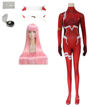 Bodysuit Halloween-Costume Darling Christmas Zero 02 Women for Carnival-Tight 3d-Printing