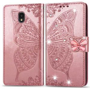 Кожаный чехол-книжка с бумажником чехол для HUAWEI P30 PRO P20 LITE MATE30 Honor 7A 7C Nova5i Enjoy9 Y9 Y7 Y6 Y5 Роскошная бабочка чехол из ПУ кожи