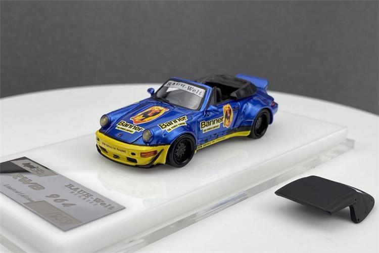 Pre-order HPI64 1:64 Benz Martini Porsche Car Carrier Resin Resin Car