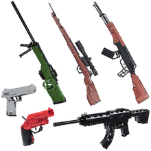 Weapon-Toys Building-Blocks Rifle-Sniper Counter-Strike Game-Series Soft Boys for Gun-Model