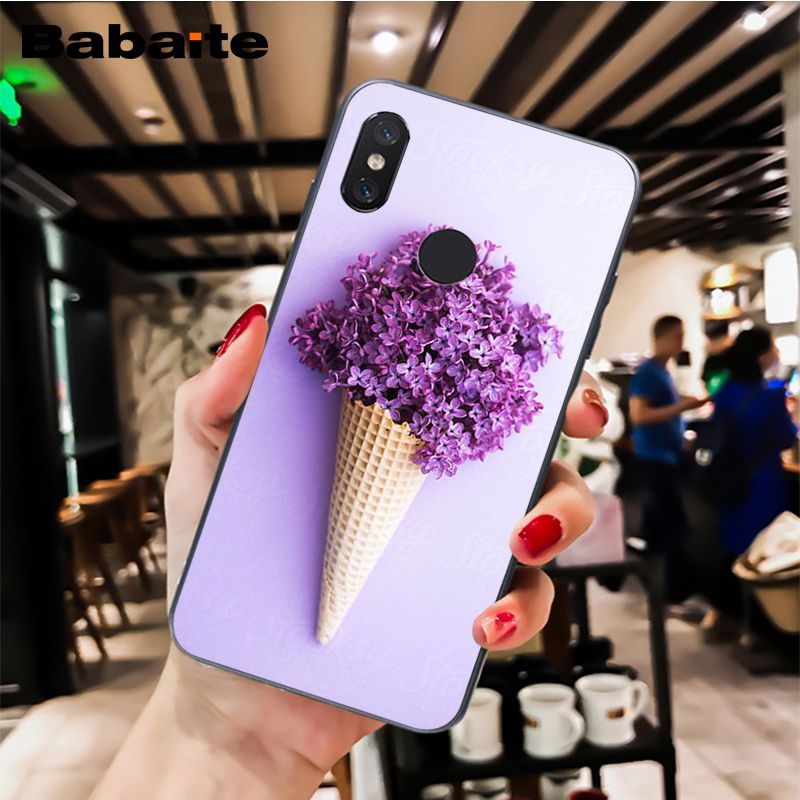 Simple lavender Purple flowers design