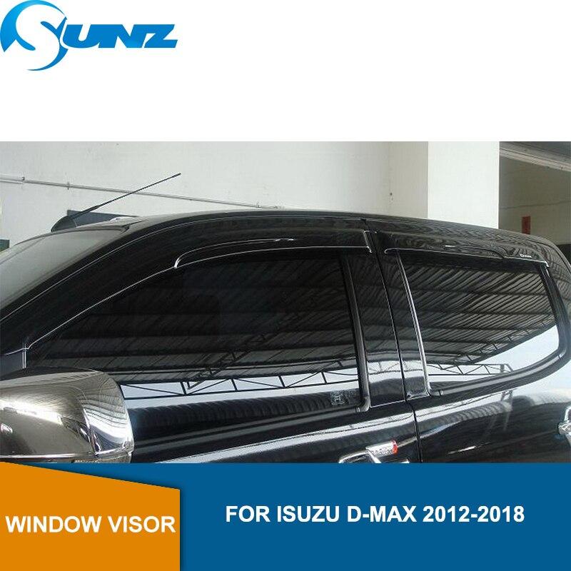 Vent Shade Window Rain Guard Wind Deflector For Honda Civic 2012 2013 2014 2015