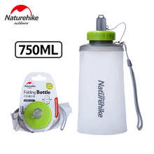 Sports-Bottle Naturehike Folding Silicone 750ml NH61A065-B Ultralight Camping-Cup Climbing