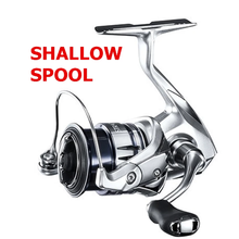 Fishing-Reel Spining Shallow Spool 1000S Shimano Stradic 2500S FL