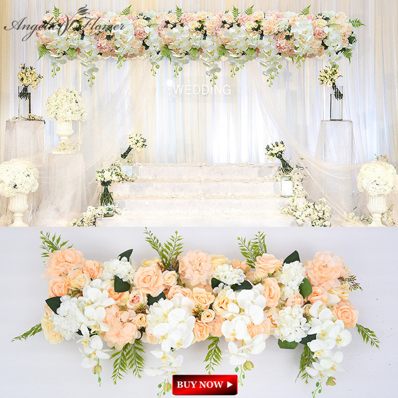 Customized-orchid-artificial-fllower-row-decor-for-DIY-wedding-iron-arch-platform-background-flower-wall-window_