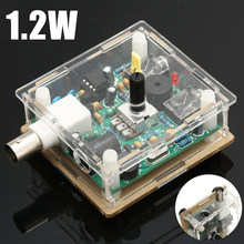 Assembled DC 9-13.8V S-PIXIE CW QRP Shortwave Radio Transceiver 7.023Mhz+ Acrylic Case(Hong Kong,China)