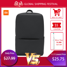 Xiaomi Business Backpack Laptop-Shoulder-Bag Classic Travel Unisex Students Original