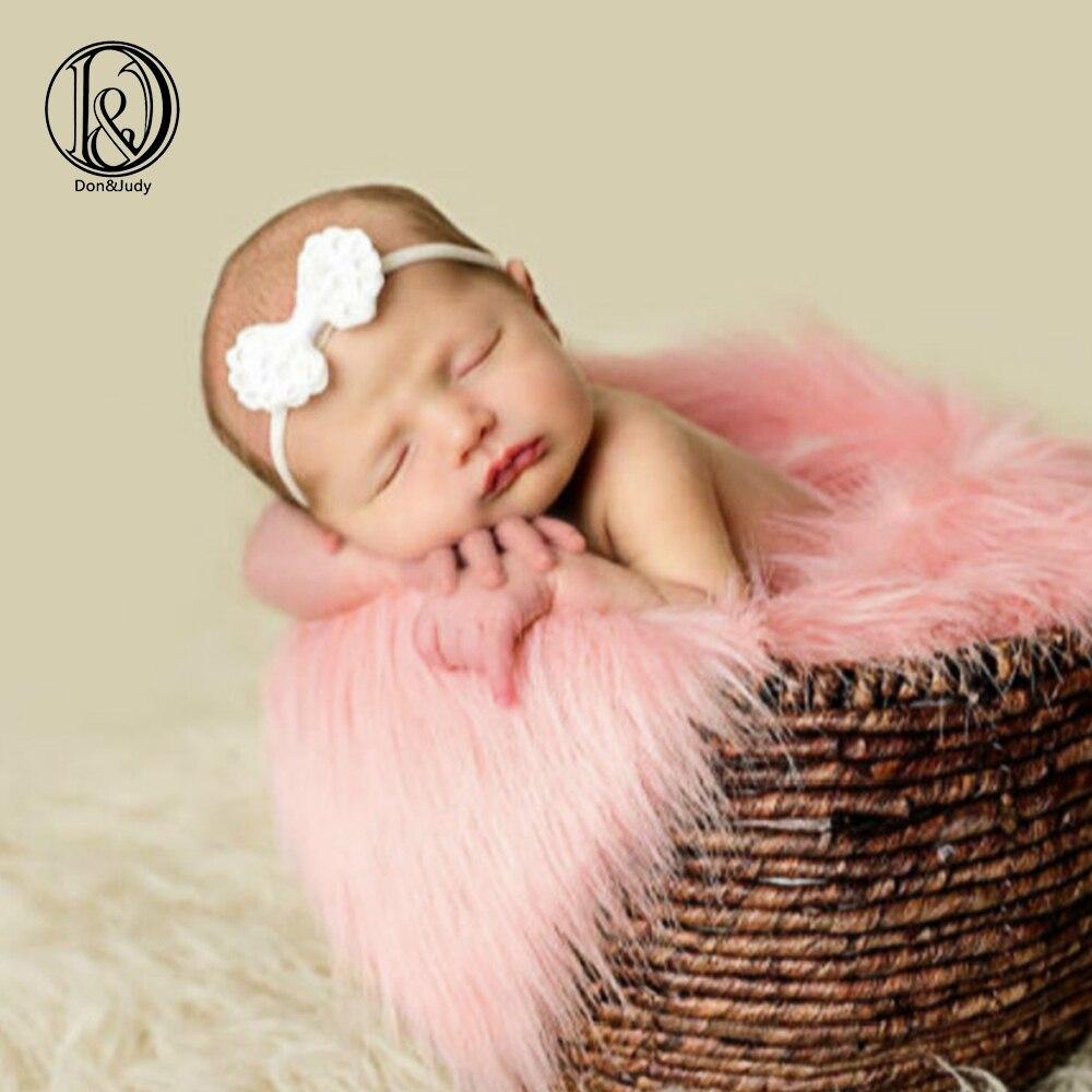 Newborn Baby Toddler Soft Wool Basket Stuffer Backdrop Photo Photography Prop