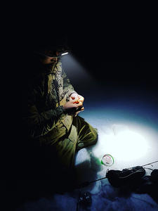 LED Headlamp Magnet-Headlight Battery-Suit Work-Light Mode Fishing Waterproof Camping