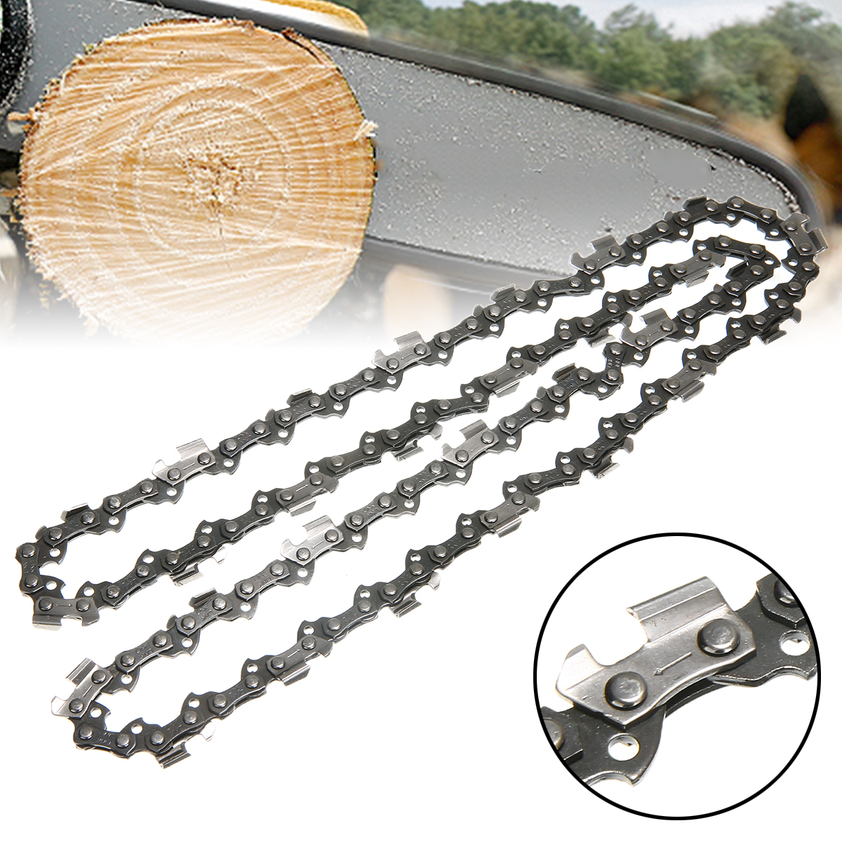 16 inch Chainsaw Saw Chain Blade 56DL Drive Link Metal High quality Durable