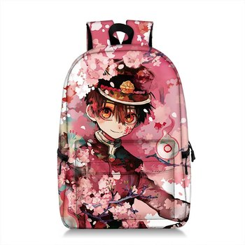 Anime Toilet-bound Jibaku Shounen Hanako Kun Cosplay Backpack Student School Shoulder Bag Laptop Travel Rucksack Gift
