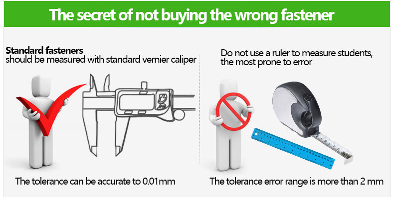The secret of not buying the wrong fastener