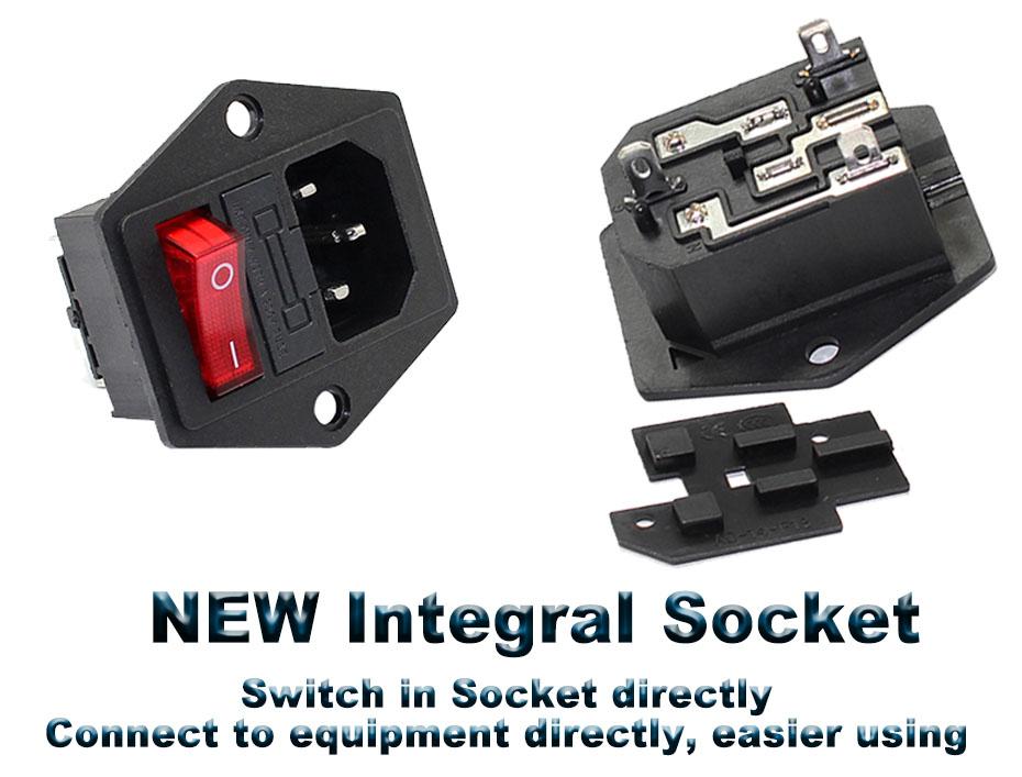 socket rocker switch