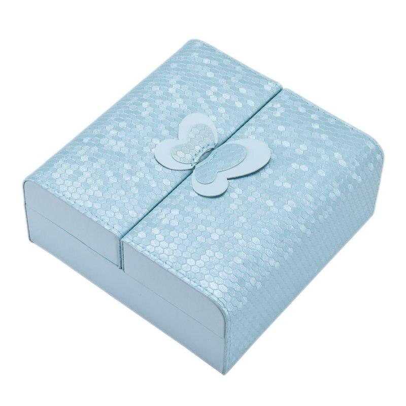 Portable Jewelry Box Fashion Leather Jewelry Storage Box Jewelry Box