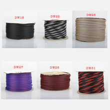 Sleeve-Tube Snakeskin Audio Braided Cable Suspension Knit Cotton 5m Rayon Mesh Hifi-Shield