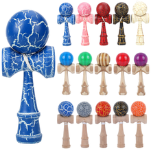 Toy Balls Kendama Japneese-Toy Sport-Game-Toys Outdoor Wooden Childr Professional 18CM