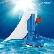 Pool-Cleaner Piscina Swimming-Pool Pond Fountain-Vacuum-Brush Garden-Supply Portable
