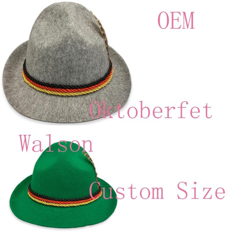 BAVARIAN HAT OKTOBERFEST GERMAN FANCY DRESS COSTUME ACCESSORY MENS LADIES UNISEX