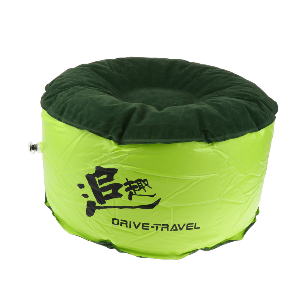 Round Air Chair Camping Inflatable Stool Feet Seat Ottoman Home Furnishing
