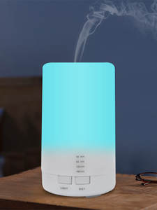Aroma-Diffuser Essential-Oil Air-Ultrasonic-Humidifier Led-Night-Light Office Mini Home