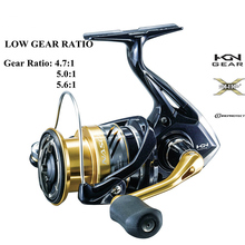 Fishing-Reel Spinning 2500 C3000 SHIMANO 4000 1000 Ratio Low-Speed-Gear Hagane-Gear NASCI