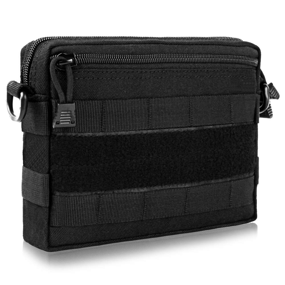 FUNANASUN 2 Pack Molle Pouches Compact Water-resistant EDC Pouch