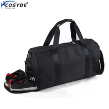 Large Men Women Bags With Shoes Compartment Waterproof Training Fitness Gym Sports Shoulder Bag Yoga Backpack Travle Bags Bolsa