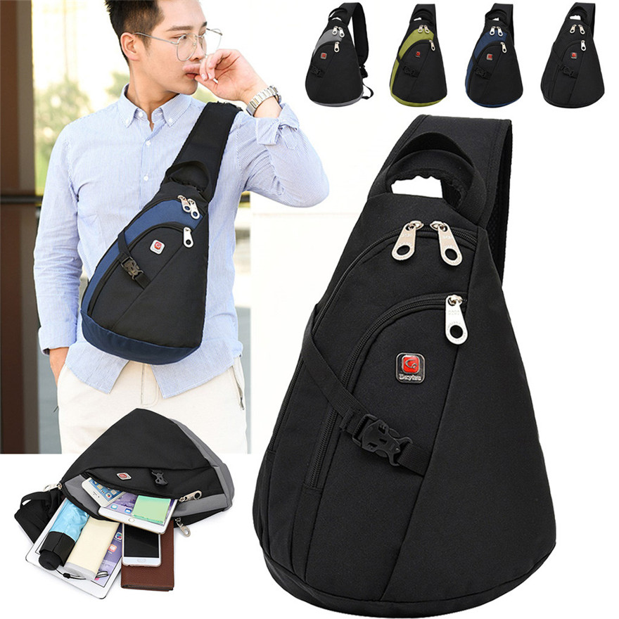 Bag Travel-Chest-Bag Messenger Beautiful Elegant Dxylza Large-Capacity And Durable Sports title=