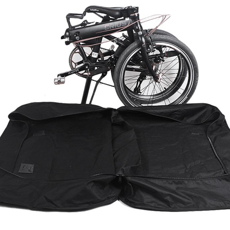 Negro VORCOOL Bolsa Triangular para Bicicleta