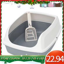 Bedpan Cats-Litter-Box Pet-Toilet Hoopet Sand-Box-Supplies Dog-Tray Scoop-Clean Home