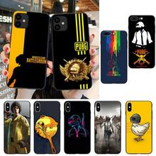 Playerunknown's Battlegrounds PUBG Phone Case For iPhone SE2 11 Pro XS MAX XS XR 8 8