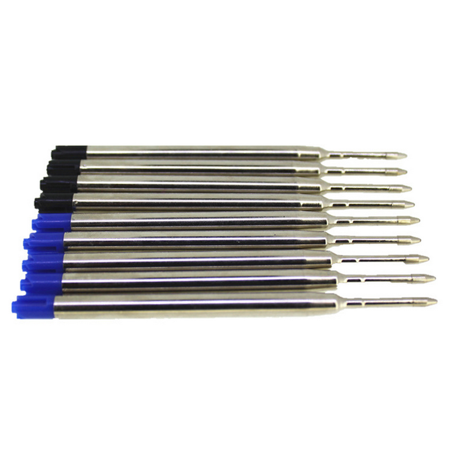 6pcs 0.7mm Ballpoint Medium Point Point Pen Refills Replacement Refills for Parker Pens School Office Stationery Supplies