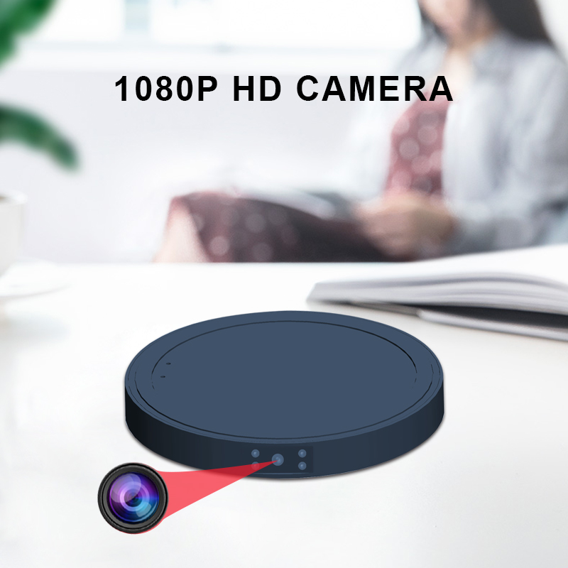 MD19A Micro Camera HD 1080P Mini Video Sensor Night Vision Camcorder Motion DVR Micro Video Sport DV small,No Wireless Charger title=