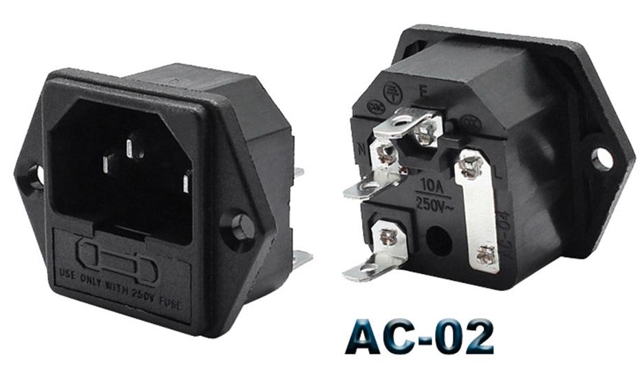 10A AC socket
