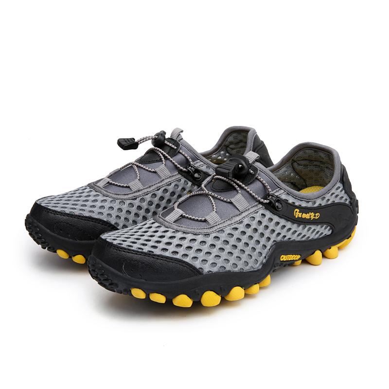 Aqua Shoes Ultra-light Quick-drying Beach Water River Walking 2019 Summer Men Mesh Breathable Flotillas Outdoor Hiking (3)