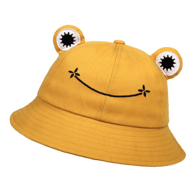 Chapeau de Seau d/'Enfants Chapeau de Protection Solaire Chapeau avec Motifs Mignons Chapeau en Coton /à Bord Large pour Tenue d/'/Ét/é de Gar/çons Filles en Bas /Âge /Âg/é de 7 /à 10 Ans, /Éto